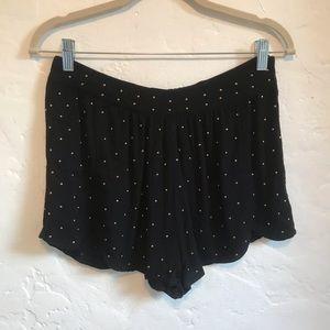 MINKPINK Shorts - Minkpink Black Studded Shorts